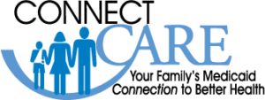 Logo for ConnectCare - Your Family's Medicaid Connection to Better Health